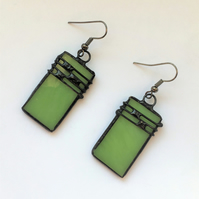 """Musical"" Stained glass earrings"