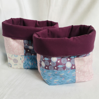 Exclusive Fabric Boxes, Unique Fabric Tubs, Gift Ideas.