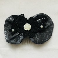 Stylish Large Bow Hair Comb, Bow Hair Comb, Stunning Hair Comb, Gift Ideas.