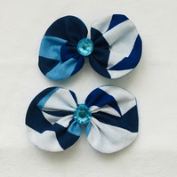 Retro Bow Hair Clips, Bow Clips, Hair Accessories, Gift Ideas.