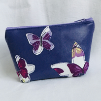Pretty Coin Purse, Butterfly Purse, Zip Pouch, Zip Coin Purse, Gift Ideas.