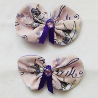 Pretty Hair Bow Clips, Hair Clips for Her, Hair Bows, Gift Ideas.