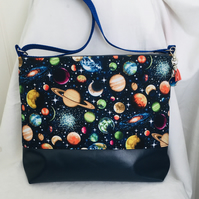 Out of This World Shoulder Bag, Stunning Crossbody Bag, One of A Kind Bag.