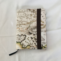 Week to View 2021 Diary, A6 Diary, Fabric Covered Diary. Gift Ideas.