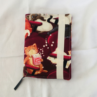 2021 Diary, Fabric Covered Diary, A6 Diary, Gift Ideas.