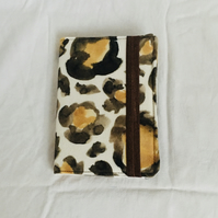 A6 Lined Hardback Notebook, Covered Notebook, Animal Theme Notebook, Gift Ideas.