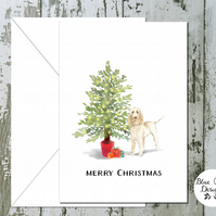 Spinone Italiano Folded Christmas Cards - pack of 10 - personalised