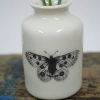 Butterfly bud vase