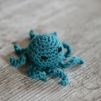 Teal Octopus Cats Catnip Cat Toy