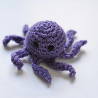 Purple Octopus Cats Catnip Cat Toy