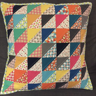 Cushion Kit Complete Half Square Triangle