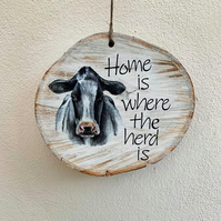 EXTRA LARGE 'HOME IS WHERE THE HERD IS'