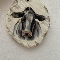 Country plaque HOLSTEIN HEAD