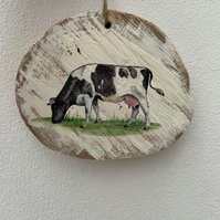 Country plaque HOLSTEIN BODY