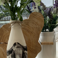 Holstein clotted cream vase