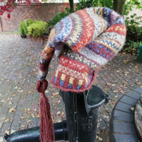 Knitting Kit: Bram's Long Pixie Hat