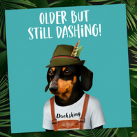 Animalyser card: Still Dashing
