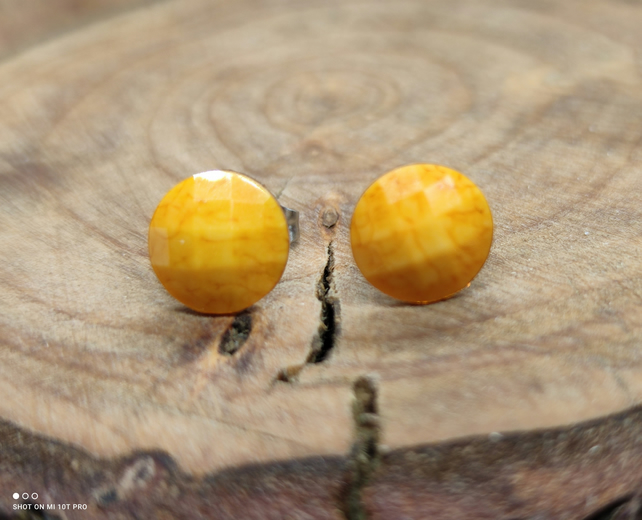Yellow Sunset Earrings