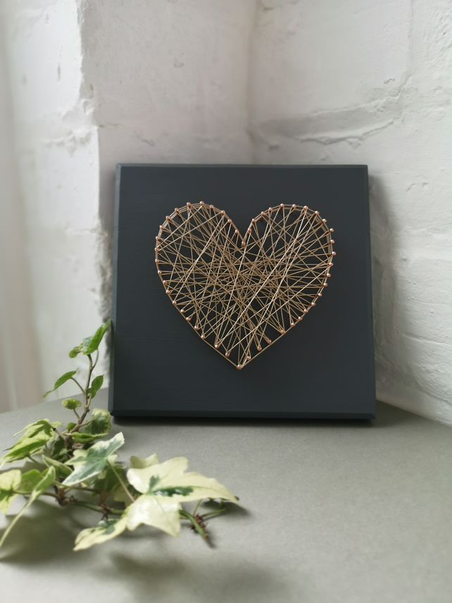 String heart picture