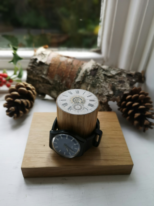 Wooden Watch Stand