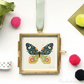 Miniature Butterfly Print in Frame