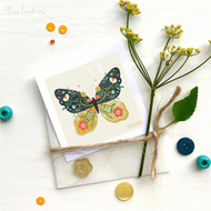 'Blooming Butterfly' - Mini Art Print