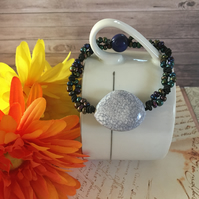 Blues stretch bracelet