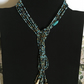 Stunning all shades for blue lariat necklace.