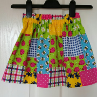 Toddlers Elasticated Skirt 3 to 4 years