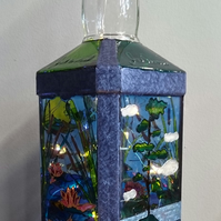 Waterscape - Bottle Lamp