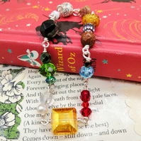Glass Beaded Bracelet - Wizard of Oz