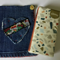 Denim Pocket Tissue Case