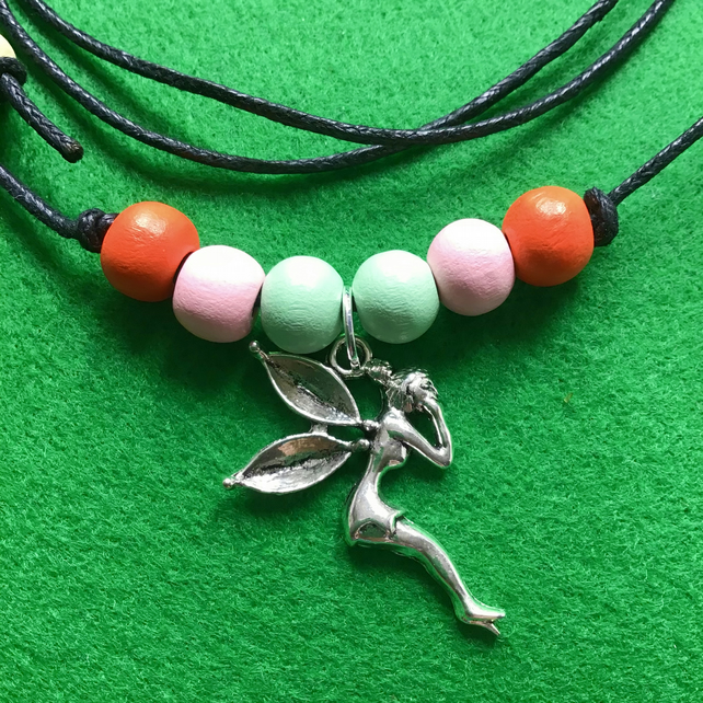 Fairy Charm Pendant Necklace