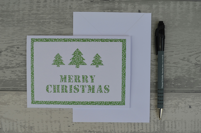 Christmas card, Merry Christmas card,