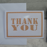 Thank you card, Greetings card