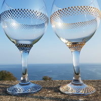 Gill's Gin Glass 'The Ring'