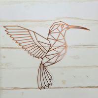 Metal Wall Art  - Hummingbird