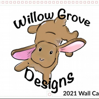 Willow Grove Designs 2021 Large Calendar