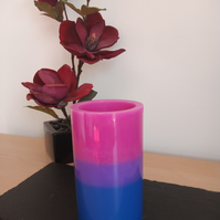 Scented Bisexual pillar candle