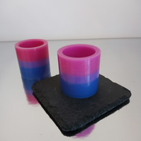 Pair of scented Bisexual candles