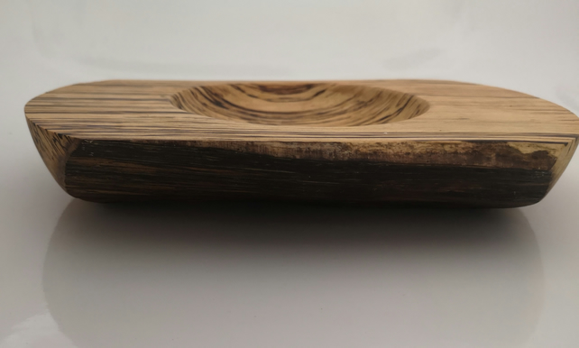 Spalted beech wooden bowl (17)