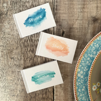 Personalised Place Setting Mini Books