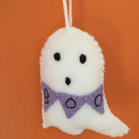 Felt Halloween Ghost Hanging Decoration
