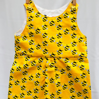 Easy Beesy Baby Girl Pinafore Dress