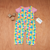 Bubbling Circles Baby Toddler Romper