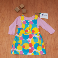 Baby Girl Pinafore Dress