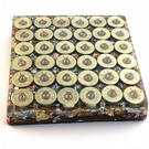 Large Handmade Heavy Gun Cartridge Resin Coaster