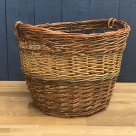 Large Willow Log basket