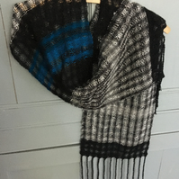 Lacy handwoven scarf