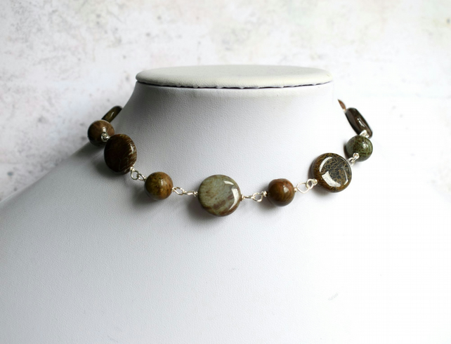 Jasper Choker Necklace